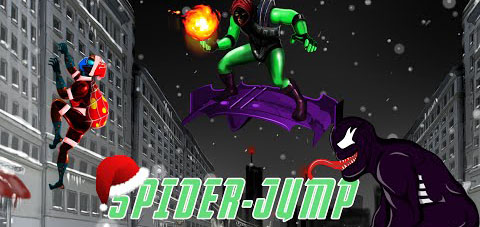Spider Jump - Goblin appears v1.7 [Mod Money]